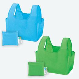 プラスチックスマート 折りたたみエコバッグ 1個