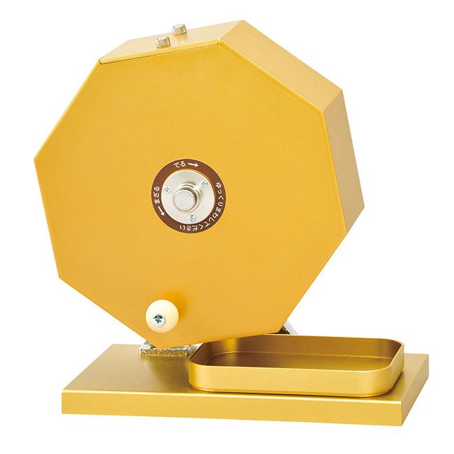 金のガラポン抽選器500球用(ut2933556)