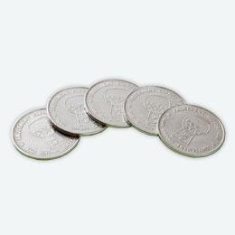 ガチャキューブ専用コイン100枚セット