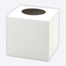 無地抽選箱 白