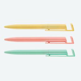 スマホスタンド付き抗菌ボールペン