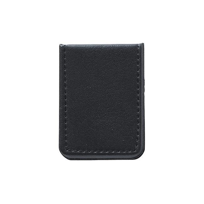 レザー調ミニフセンブック(V010255)ブラック