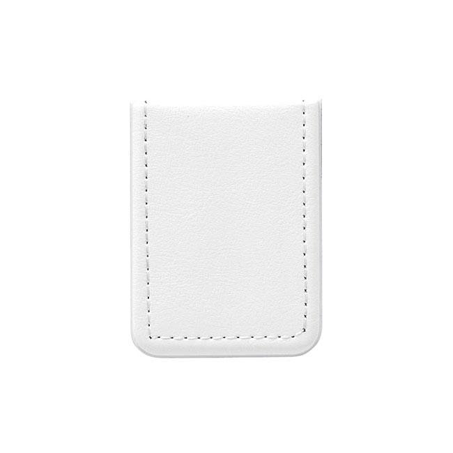 レザー調ミニフセンブック(V010255)ホワイト