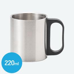 ステンレス2重マグカップ