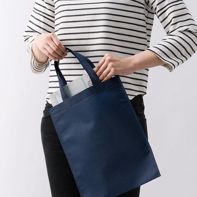 不織布A4トートバッグ(V010365)A4資料に丁度良いサイズ