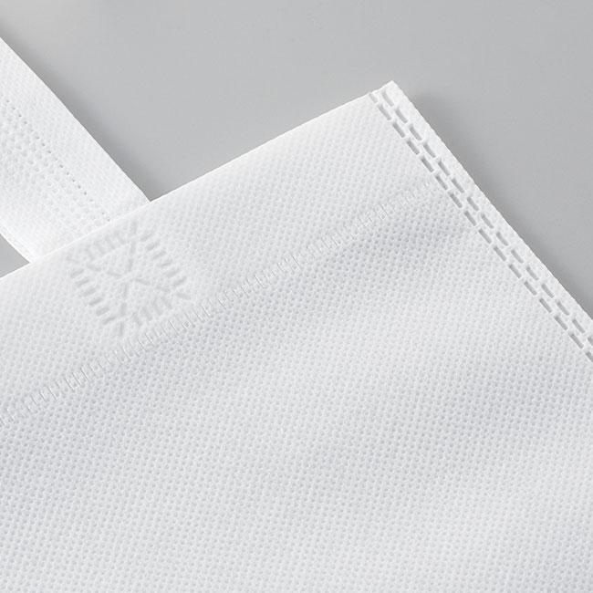 不織布A4トートバッグ(V010365)生地接写