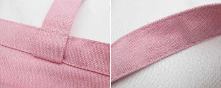 キャンバスデイリートート(M)(tTR-0751)ハンドル繋ぎ目の縫製イメージ