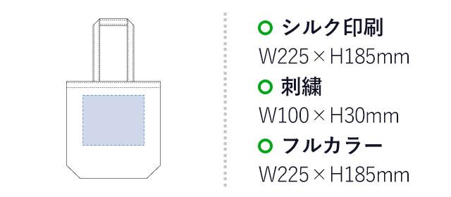 キャンバスデイリートート(M)(tTR-0751)名入れサイズ