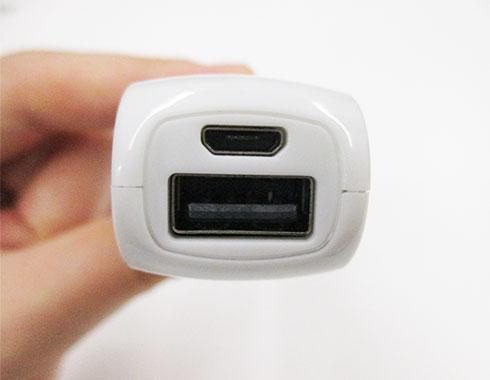 ポケットバッテリー2000(V010357)本体差し込み部分イメージ