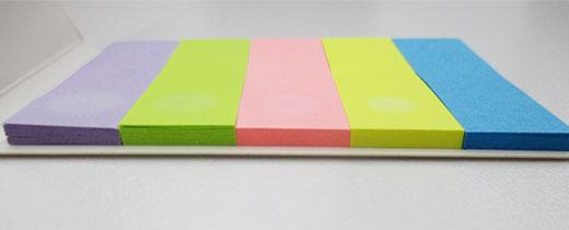 カバー付きフセンメモ(V010121)付箋枚数イメージ